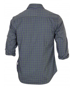 Slim fit - Green Full Sleeve Shirt Boer and Fitch - 4