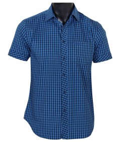 Slim Fit - Ink Blue Casual Shirt Boer and Fitch - 2