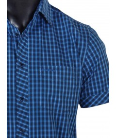 Slim Fit - Ink Blue Casual Shirt Boer and Fitch - 5