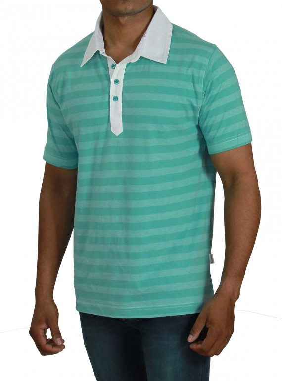 Self Stripped Polo TShirt Boer and Fitch - 2