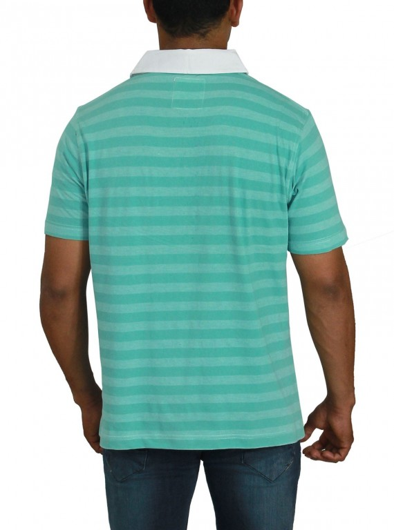 Self Stripped Polo TShirt Boer and Fitch - 3
