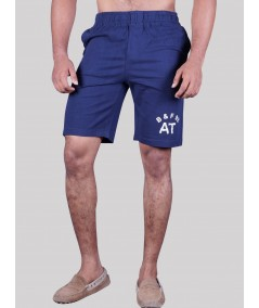 Navy Jersey Shorts Boer and Fitch - 1