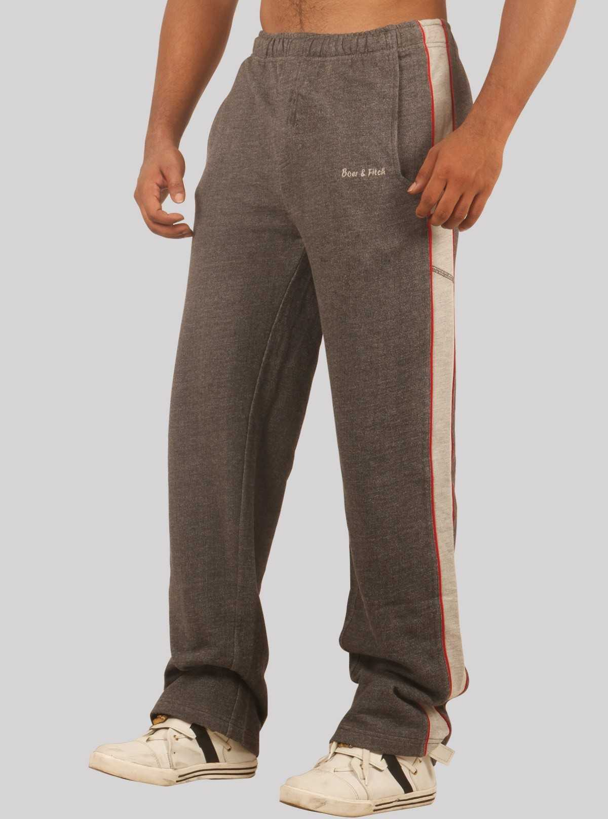 Charcol Melange Track Pants Boer and Fitch - 1
