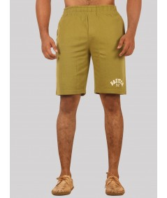 Olive Jersey Shorts Boer and Fitch - 1