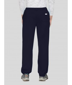 Navy Cuffed Fleece Jogger Boer and Fitch - 3