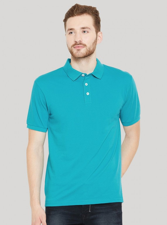 Blue Bay Pique Polo TShirt Boer and Fitch - 1