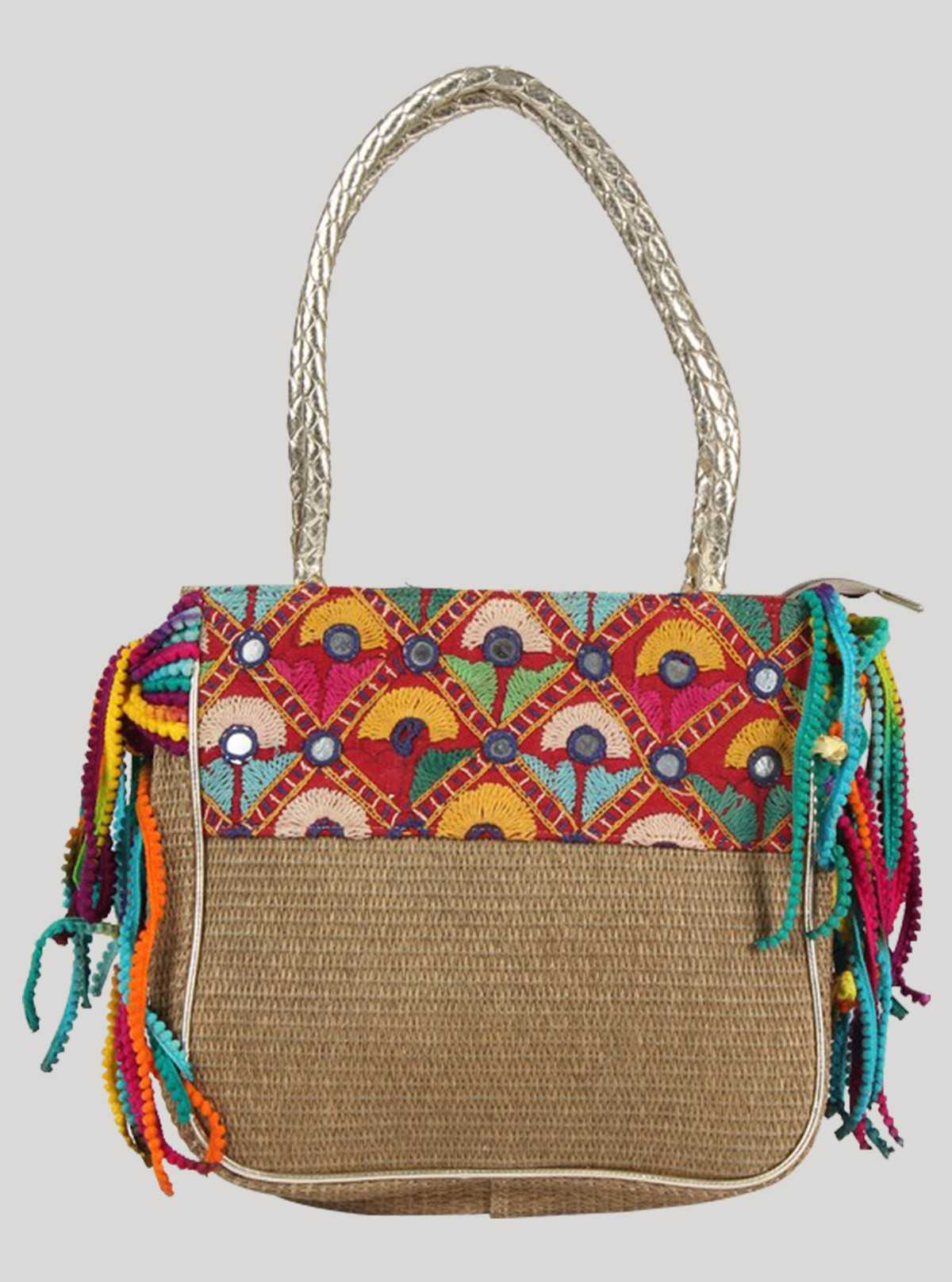 Multi Color Sling Bag Boer and Fitch - 1