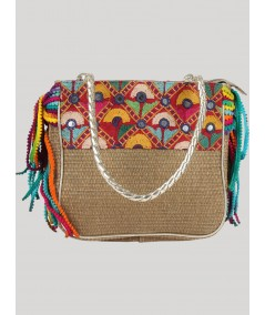 Multi Color Sling Bag Boer and Fitch - 2
