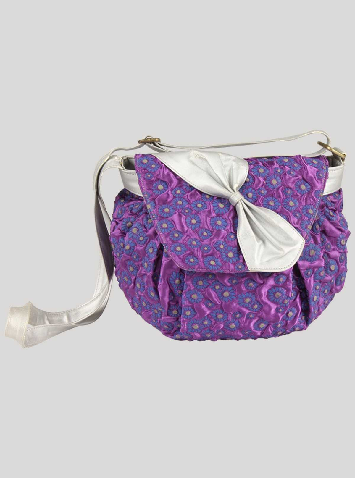 Purple Sling Bag Boer and Fitch - 1