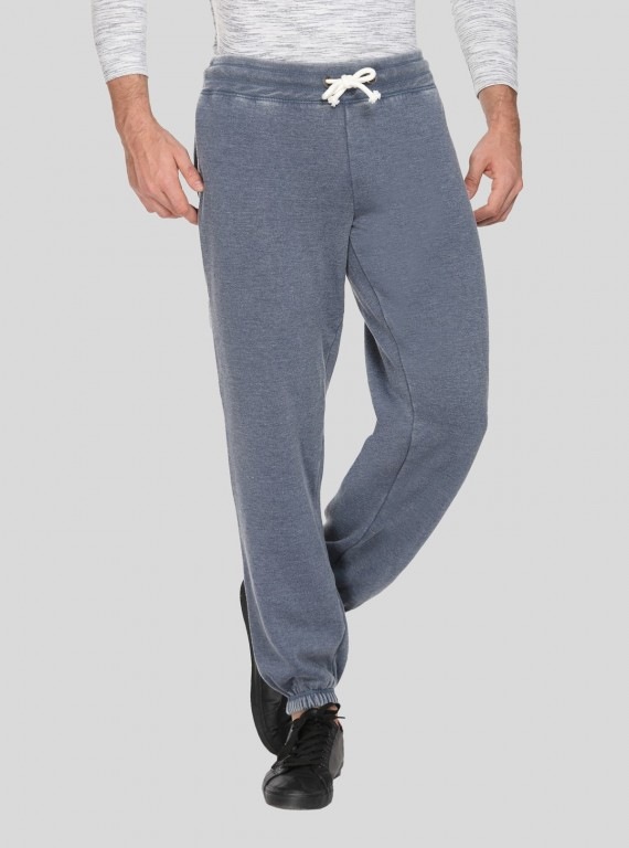 Faded Blue Cuffed Jogger Boer and Fitch - 1