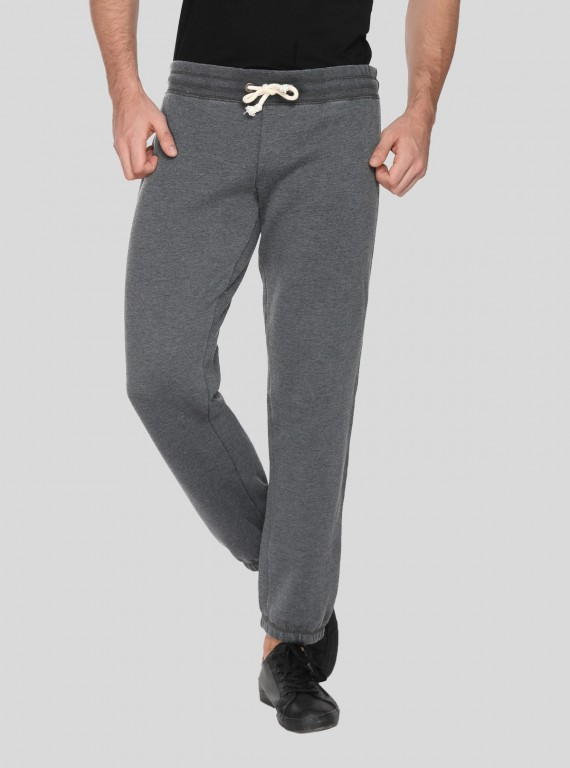 Charcol Melange Cuffed Jogger Boer and Fitch - 1