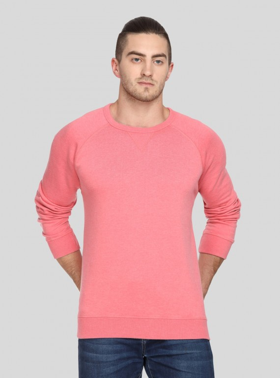 Coral V Cut Fleece Sweat Shirt Boer and Fitch - 1