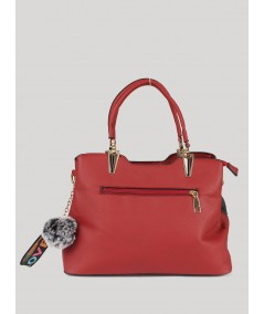Red Floral Sling Bag Boer and Fitch - 2
