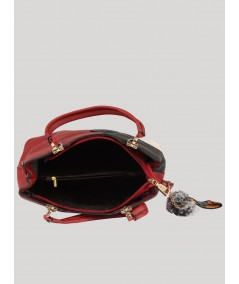 Red Floral Sling Bag Boer and Fitch - 3