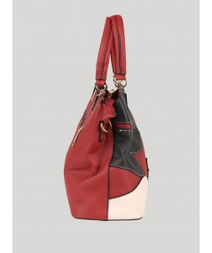 Red Floral Sling Bag Boer and Fitch - 5
