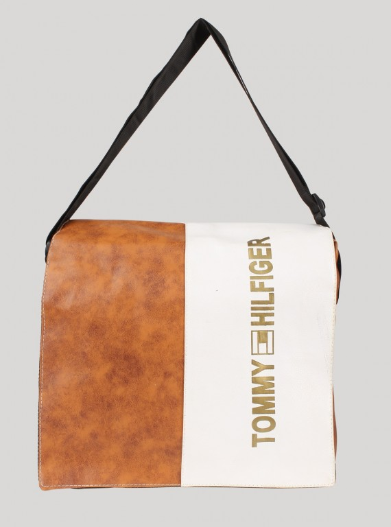 Brown Sling bag for Men
