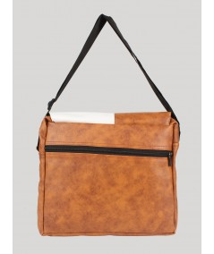 Brown Sling bag for Men Boer and Fitch - 2