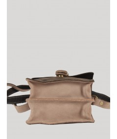 Dark Grey Leather Bag Boer and Fitch - 4