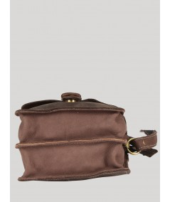 Ash Grey Leather Bag Boer and Fitch - 2