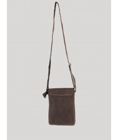 Ash Grey Leather Bag Boer and Fitch - 3