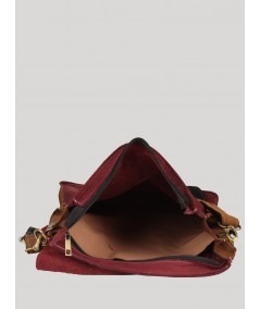 Red Sling Bag Boer and Fitch - 3