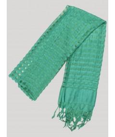 Green Mirror Scarf Boer and Fitch - 2