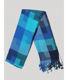 Blue Color Viscose Scarf Boer and Fitch - 2