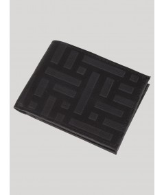 Square Black Wallet Boer and Fitch - 2