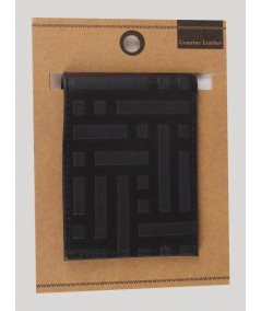 Square Black Wallet Boer and Fitch - 5