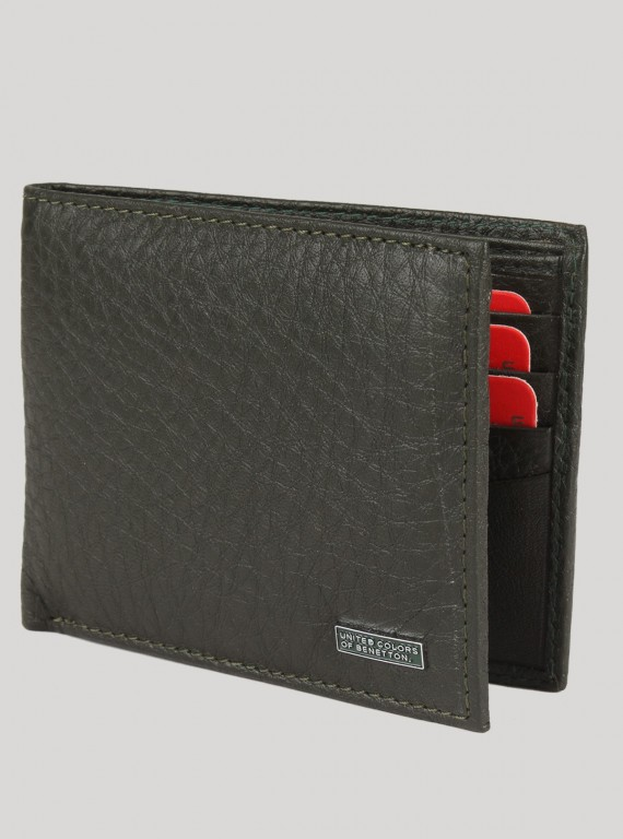 Black Cherry Leather Wallet