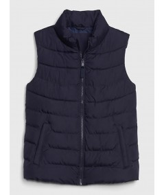 Navy Puffer Vest Jacket Boer and Fitch - 2
