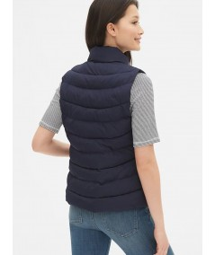 Navy Puffer Vest Jacket Boer and Fitch - 4