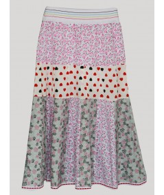 Cut & Sew Long Skirt Boer and Fitch - 2