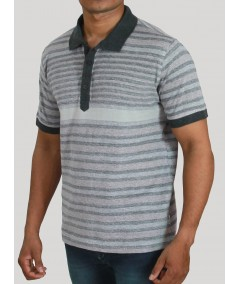 Plated Stripe TShirt Boer and Fitch - 1