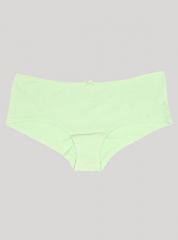 Green Solid Panty