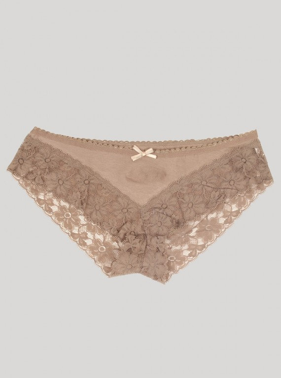 Light Brown Laced Panty