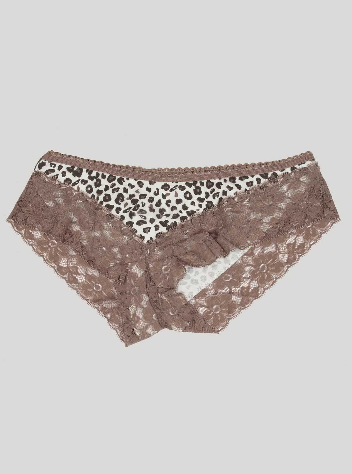 Brown Lace Panty