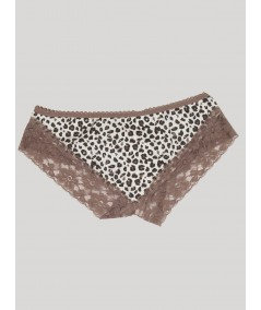 Brown Lace Panty Boer and Fitch - 3